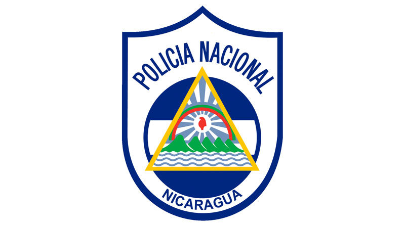 Logo de la Policía Nacional de Nicaragua captura de Lesther Alemán