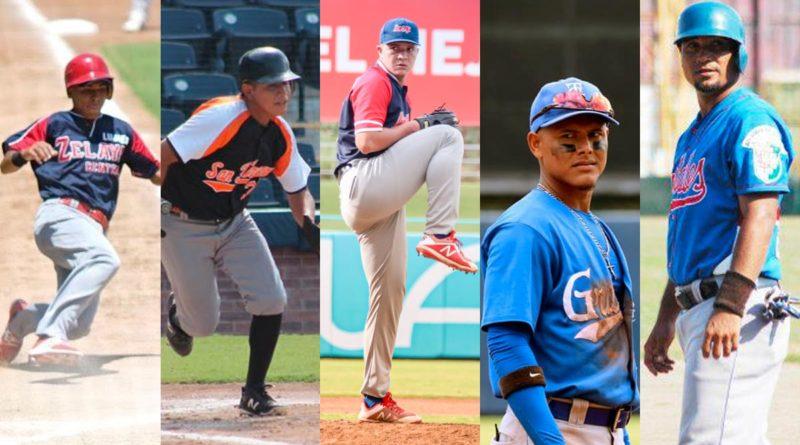 Jugadores de Chontales, Jinotega, Granada, Masaya y Zelaya que buscará un pase en el Pomares 2021.