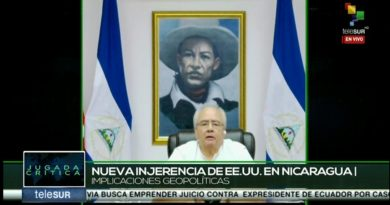 Doctor Gustavo Porras, Presidente de la Asamblea Nacional de Nicaragua.