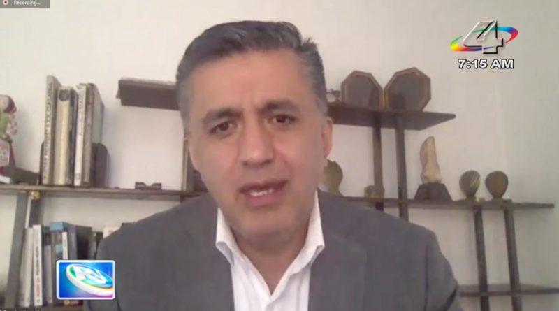 Sacha Llorenti, secretario ejecutivo del ALBA-TCP.