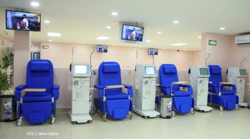 Nueva sala de hemodiálisis