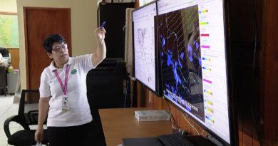 La compañera Salvadora Martínez de INETER brindado el reporte del clima para este marte, que estará caluroso y habrá lluvias en la tarde.