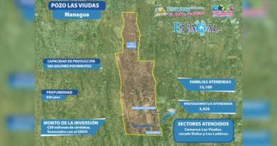 Mapa de ENACAL mostrando las zonas que contarán con el mejoramiento del servicio de agua potable