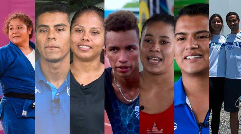 Esta es la delegación de Nicaragua que participará en los Juegos Olímpicos Tokio 2021.