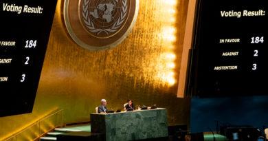 Votación en la ONU en contra del bloqueo contra Cuba, impuesto ilegalmente por Estados Unidos