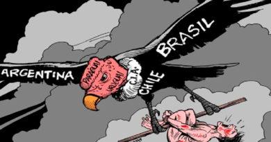 Ave de rapiña de Estados Unidos sobrevuela América latina