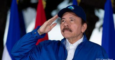Presidente de la República de Nicaragua, Comandante Daniel Ortega Saavedra.