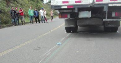 Camioncito involucrado en el accidente ocurrido en Juigalpa