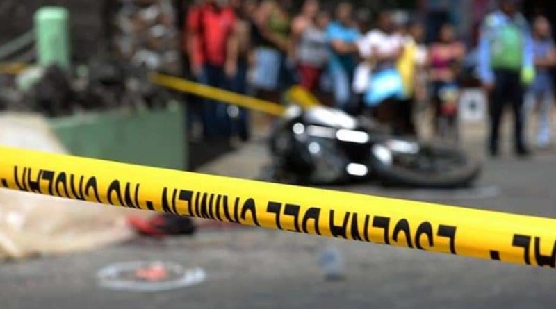 Falleció un motociclista de 23 años de edad, a consecuencia de accidente de tránsito en Tipitapa.