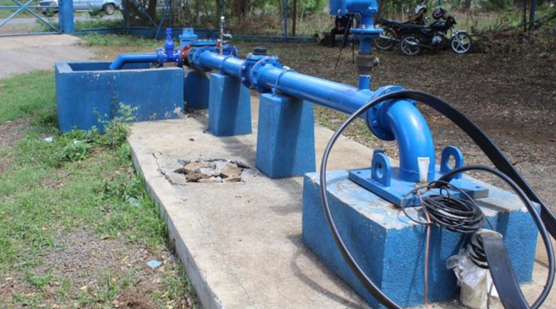 Nuevo pozo de agua potable en Veracruz, Managua