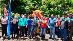 Inauguración del arboretum en el Centro Tecnológico Santiago Baldovino de Muy Muy, Matagalpa