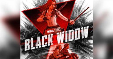 Diseño promocional de Black Widow