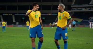 Brasil logra victoria ante Perú y clasifica a la final de la Copa América.