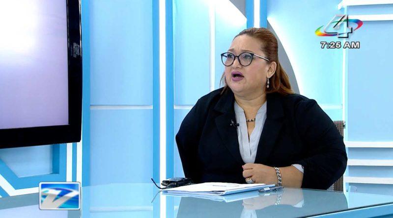 Magistrada Brenda Rocha en la Revista en Vivo, viernes 23 de julio de 2021