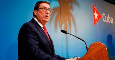 Canciller de Cuba, Bruno Rodríguez saluda el 42 Aniversario del Triunfo de la Revolución Popular Sandinista.