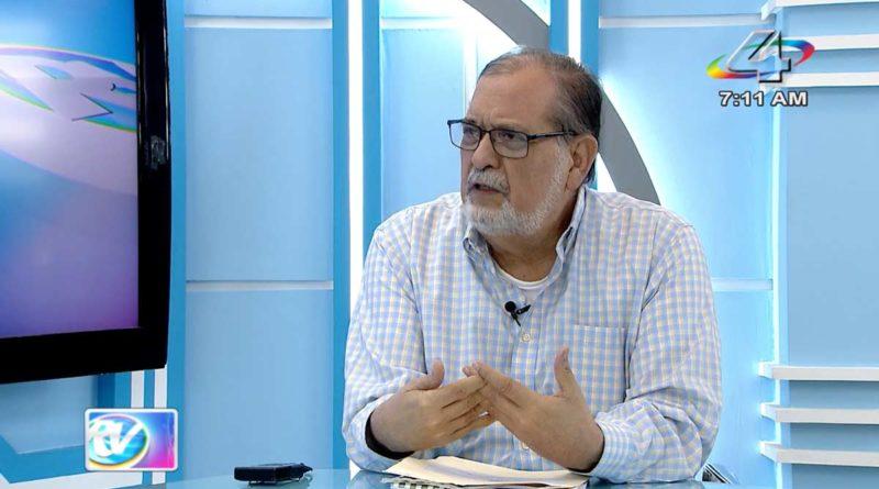 Magistrado Cairo Amador en la Revista en Vivo, lunes 26 de julio de 2021