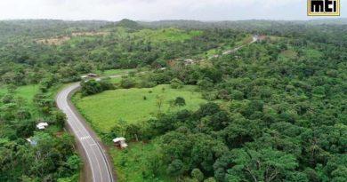 Nueva carretera inaugurada por el Gobierno Sandinista a través del MTI en El Rama