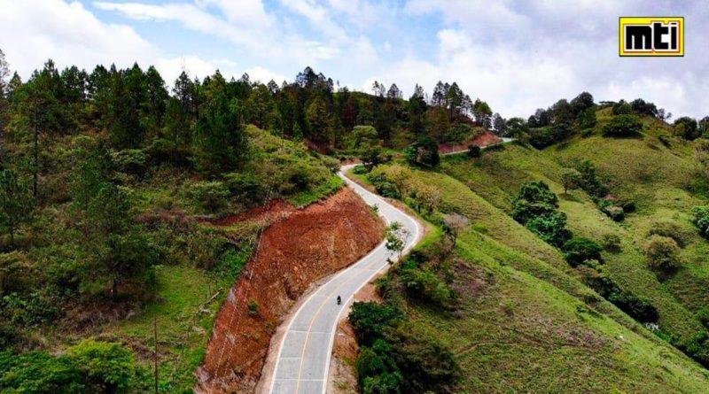 Carretera adoquinada entre El Jícaro - Pie de Cuesta en Nueva Segovia