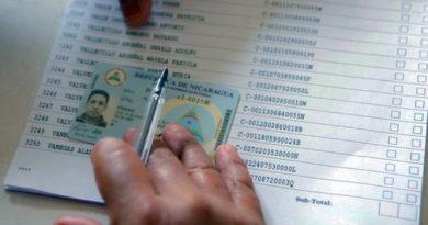 Padrón electoral del Consejo Supremo Electoral