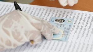 Padrón electoral utilizado por el Consejo Supremo Electoral