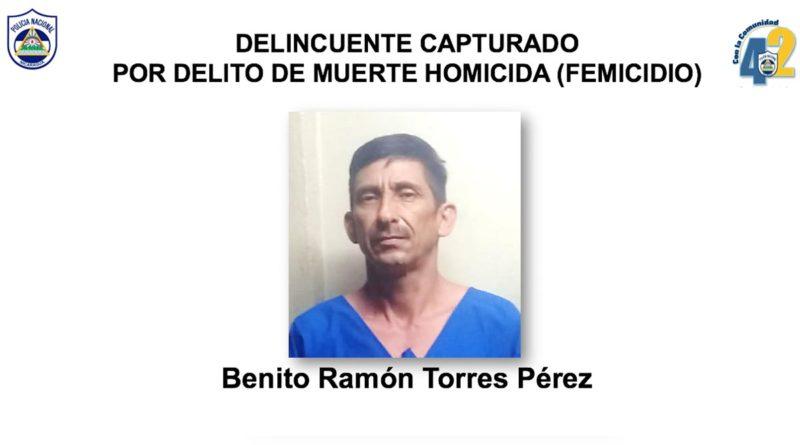Delincuente capturado por la Policía Nacional