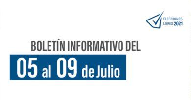 """Dossier informativo semanal No. 9 """"Elecciones Libres 2021"""""""
