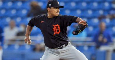 Erasmo Ramírez debuta con los Tigres de Detroit.