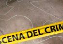 Escena del crimen, línea amarilla utilizada por la Policía Nacional