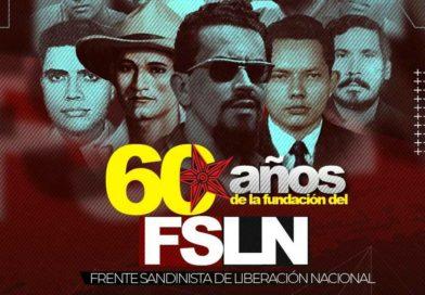 60 Aniversario de Fundación del Frente Sandinista de Liberación Nacional