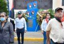 Autoridades de León junto a Estudiantes del CUUN rinden homenaje a los héroes y mártires del 23 de Julio