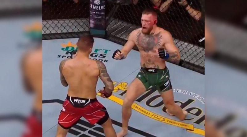 McGregor durante lesión