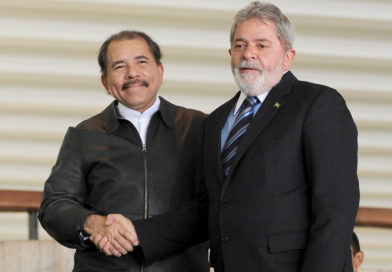 Presidente de Nicaragua, Comandante Daniel Ortega junto al Ex presidente de Brasil, Lula da Silva