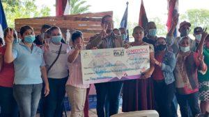 MEFCCA capitaliza a pequeños negocios en el campo de Managua