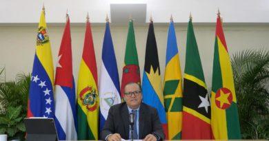 Compañero Javier Gutiérrez Reunión de Ministras y Ministros de Ambiente, y Altas Autoridades del ALBA-TCP