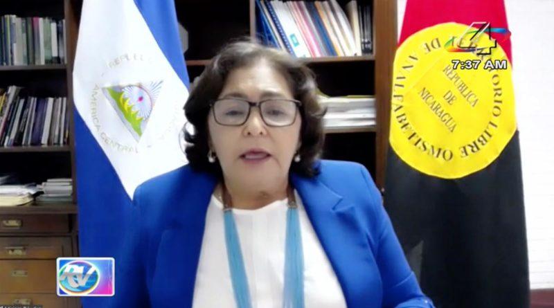 Ministra Miriam Raudez en la Revista en Vivo, miércoles 7 de julio de 2021