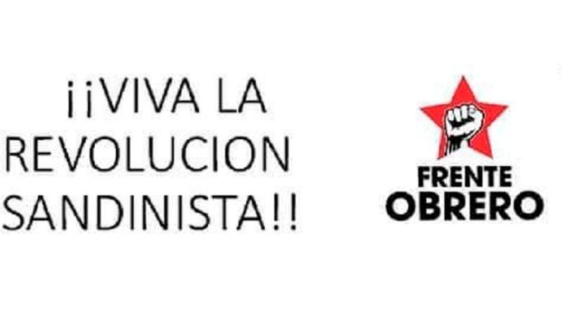 Movimiento Obrero de Honduras envía saludo en ocasión del 42/19