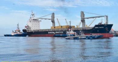 Fuerza Naval de Nicaragua brindando protección a embarcaciones y flota pesquera industrial que llegan a los puertos del país.