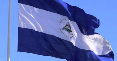 Bandera de la República de Nicaragua