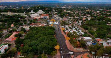 Vista panoramica del centro de Managua