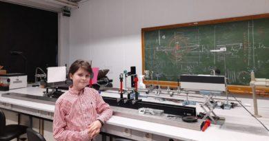 Laurent Simons de 11 años de edad en la Universidad de Amberes