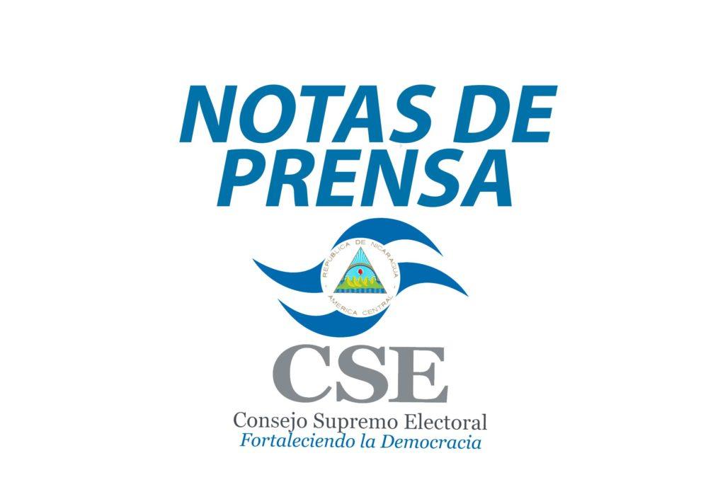 Notas de Prensa del CSE