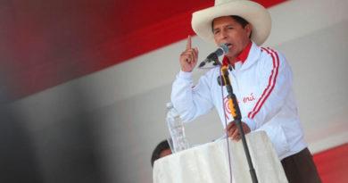 Pedro Castillo, presidente de la Hermana República del Perú.
