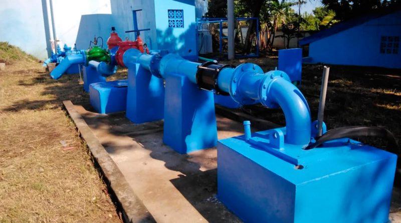 pozo de agua potable en San Judas, Managua