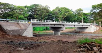 Nuevo Puente Cárdenas, de 58 metros de longitud en el departamento de Rivas