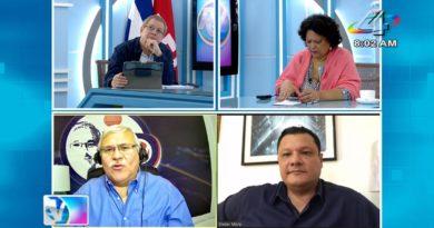 Tirsa Sáenz, Adolfo Pastrans y Eliezer Mora en la Revista en Vivo con Alberto Mora martes 20 de julio de 2021