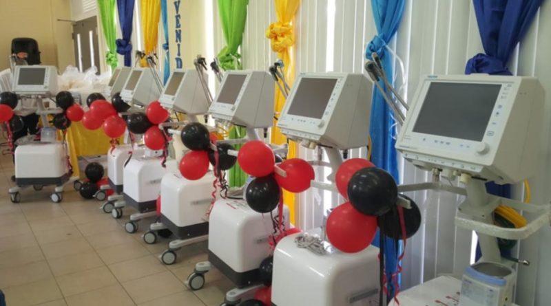 Nuevos ventiladores entregados por el Ministerio de Salud en el hospital departamental de Boaco