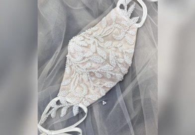 Mascarilla de vestido de novia