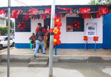 Vivienda nueva entregada a una familia de San Sebastián en Managua