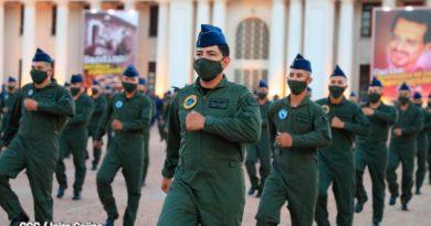 Acto del 41 Aniversario de la Fuerza Naval del Ejército de Nicaragua