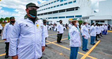 Cuerpo médico militar del Ejército de Nicaragua